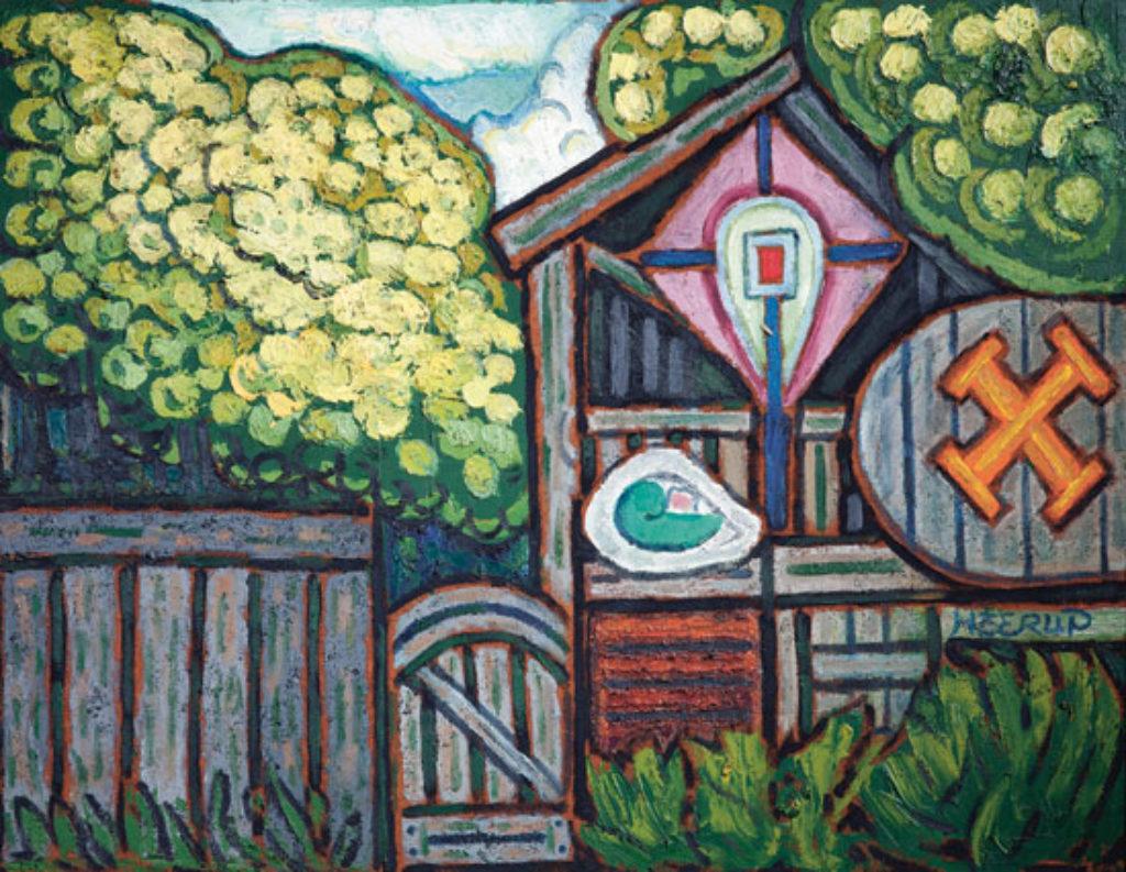 Gå til varen: Kunstnerens have