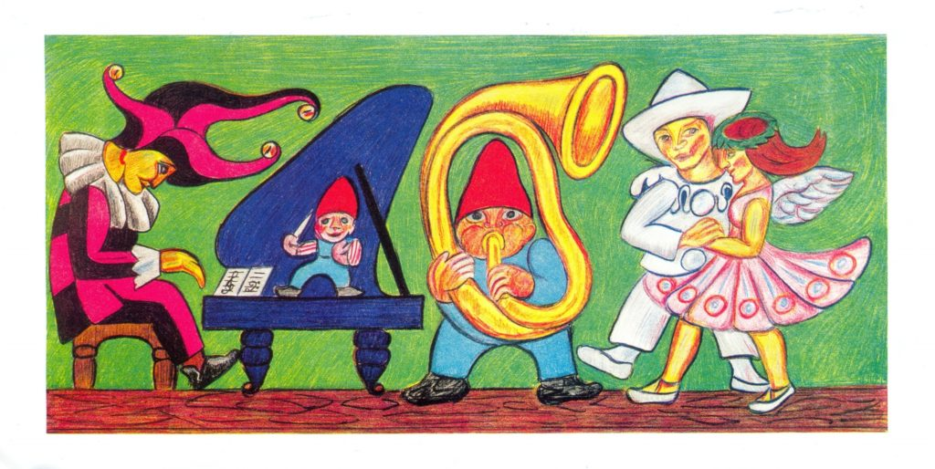 Gå til varen: Dansen og musikken