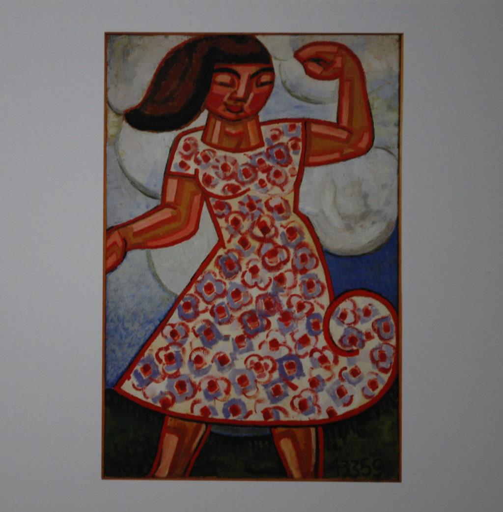 Gå til varen: Dansende pige