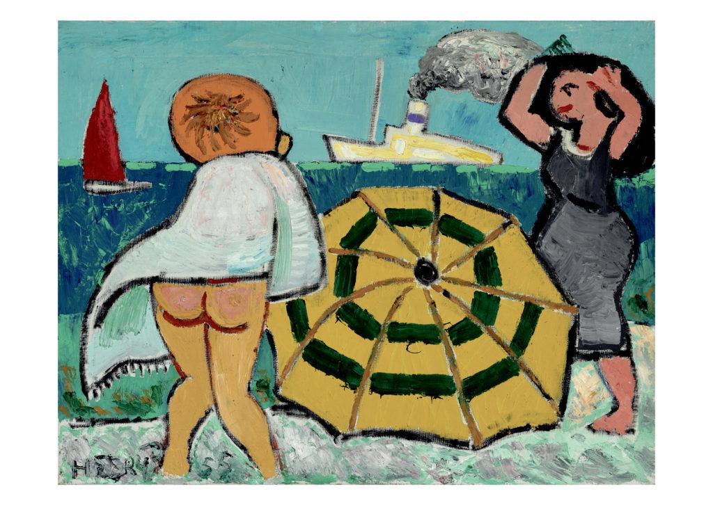Gå til varen: Sommerpiger ved stranden