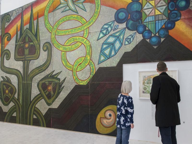 Gå til udstillingen: Atomblomster